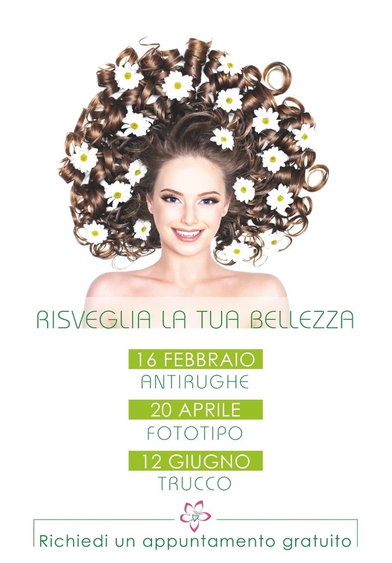 """Risveglia la tua bellezza – antirughe, fototipo e trucco """"GRATUITO"""""""