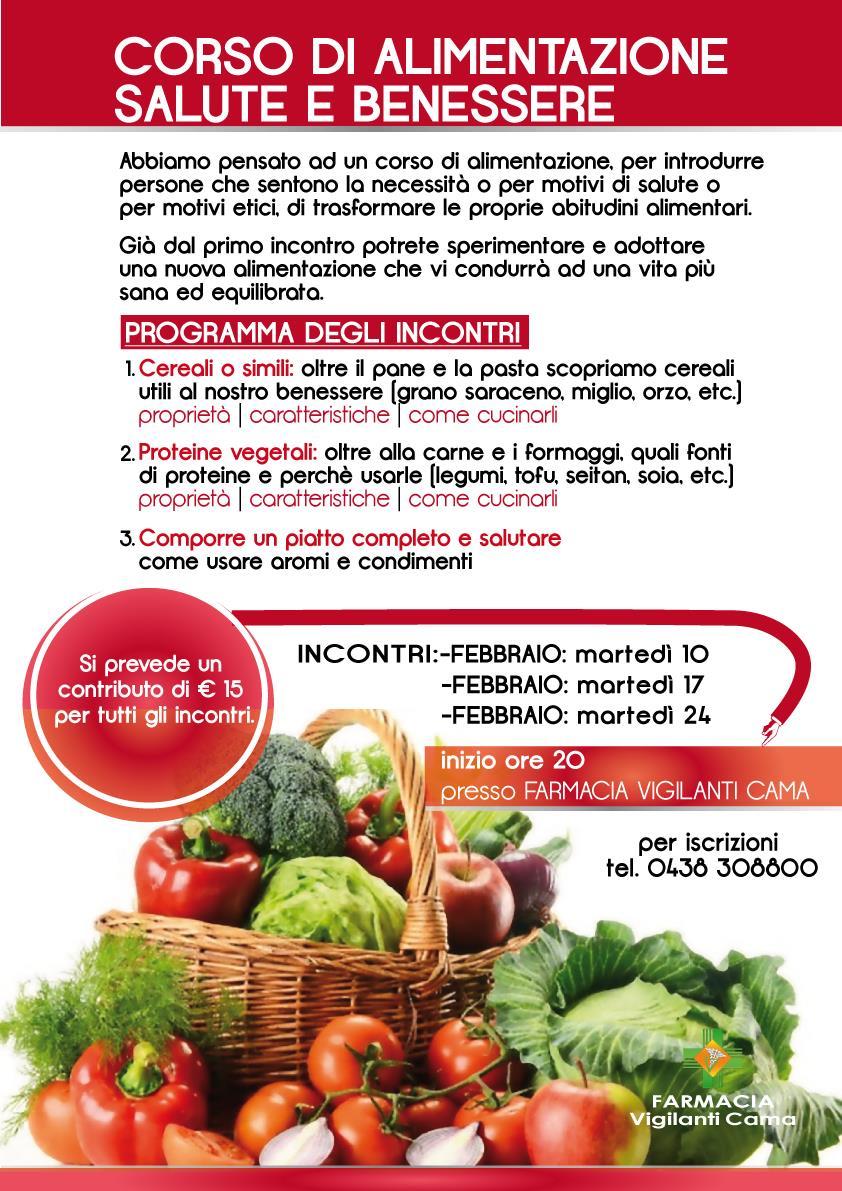 Corso Alimentazione Naturale Salute E Benessere In Farmacia