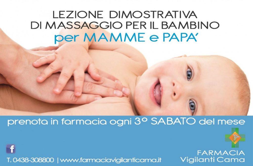 Corso di massaggio per il bambino per mamma e papà