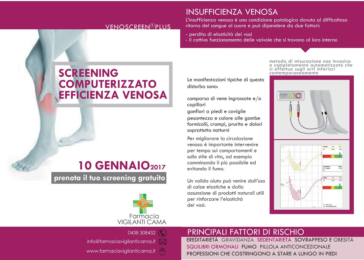 Screening Computerizzato Efficienza Venosa